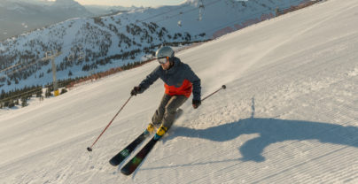 Unieke wintersport in Jasper