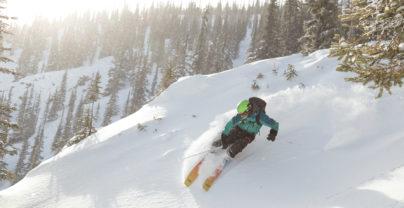 Wintersport in de Canadian Rockies