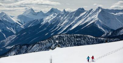 Ski in Jasper